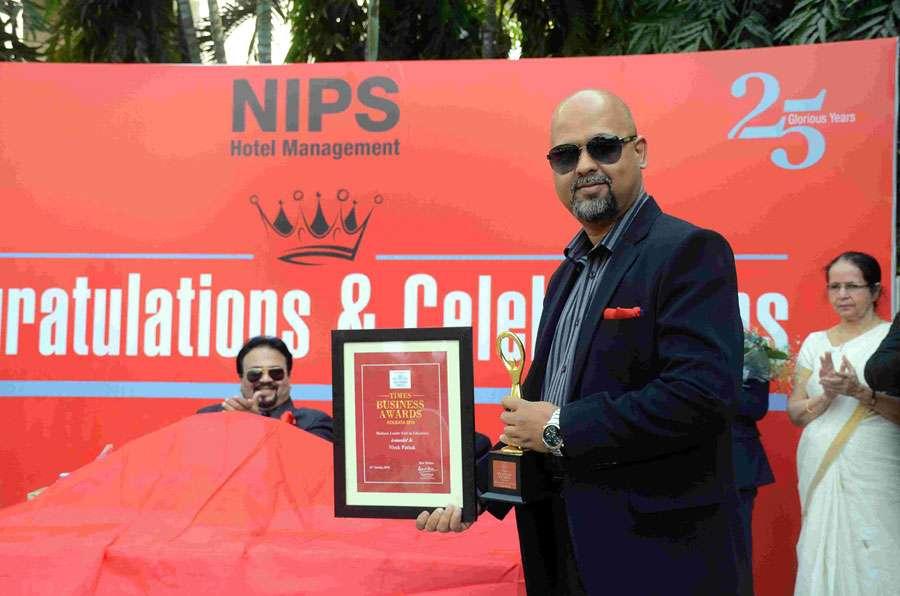 NIPS managing director Mr. Vivek Pathak received Times Business Awards