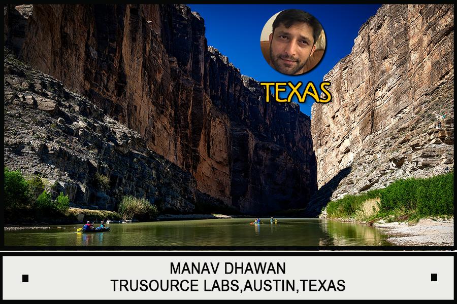 Manav Dhawan, Trusource Labs,Austin,Texas