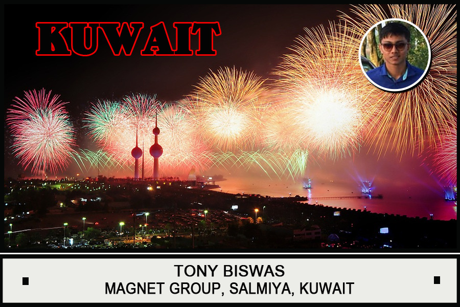 Tony Biswas, Magnet Group, Kuwait